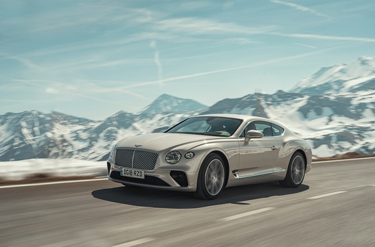 Bentley Continental GT - White Sand - 2