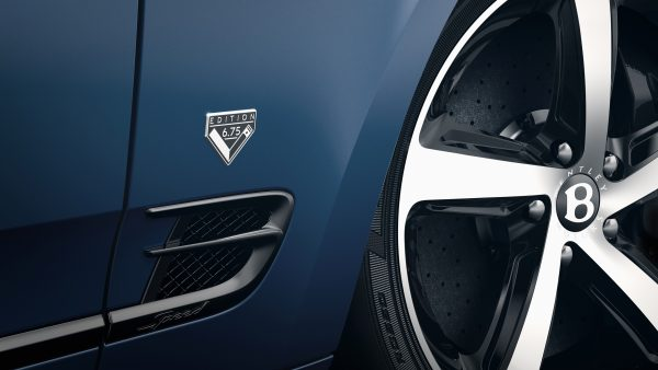 Mulsanne 675 Edition - 5, Wheel and Badge