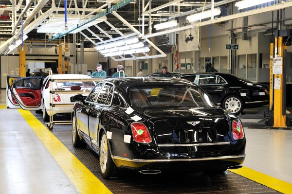 Production of the Bentley Mulsanne