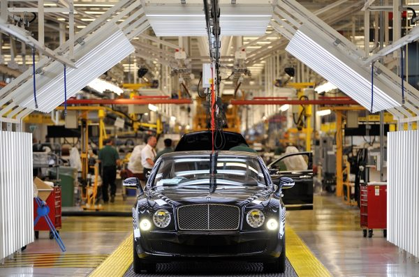 Production of the Bentley Mulsanne[2]