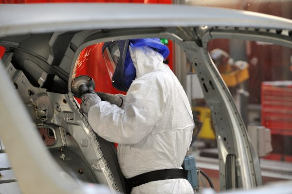 Production of the Bentley Mulsanne[3]